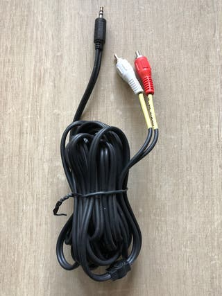 Cable audio jack a RCA