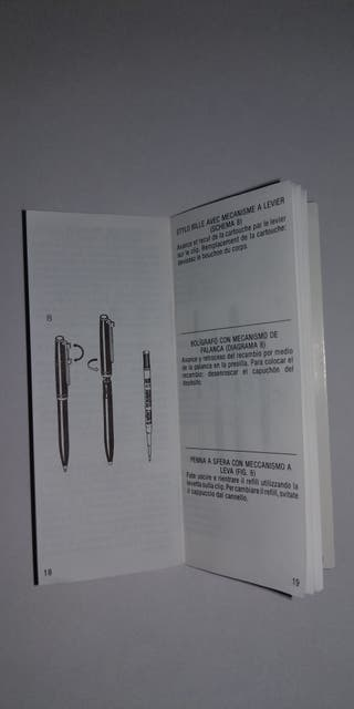 Montblanc N°38 bolígrafo