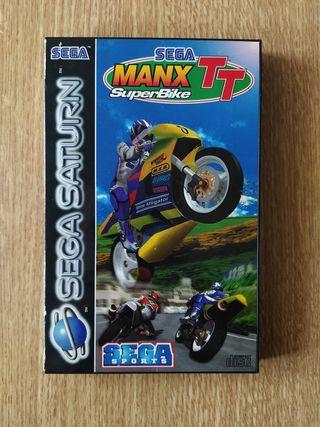 Manx TT Super Bike Sega Saturn