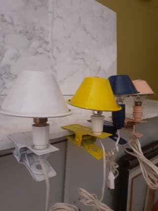 mini lámpara pinza