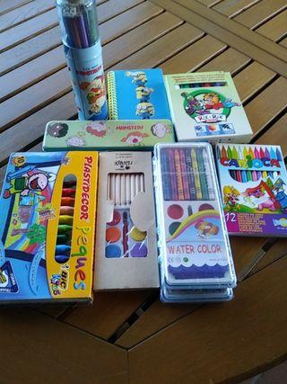 lapices y colores para pintar nuevos