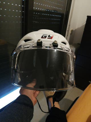 casco niño hockey