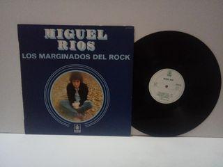 Miguel Ríos Los Marginados del Rock Hispavox 1983