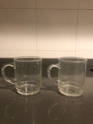 Tazas cristal apilables