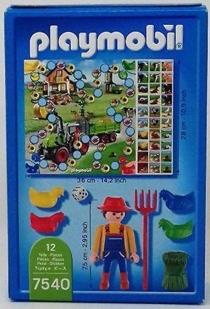 Playmobil: agricultor & juego de mesa NUEVO
