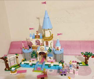 Castillo cenicienta Lego