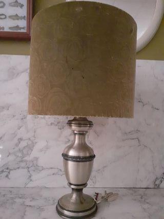 lámpara tulipa vintage