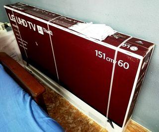 Tv Lg LED Smart 4K de 60 pulgadas NUEVO!