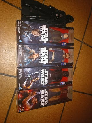 lote de figuras de Star Wars