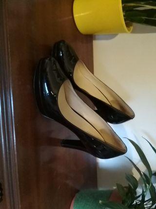 zapatos tacón Nine west