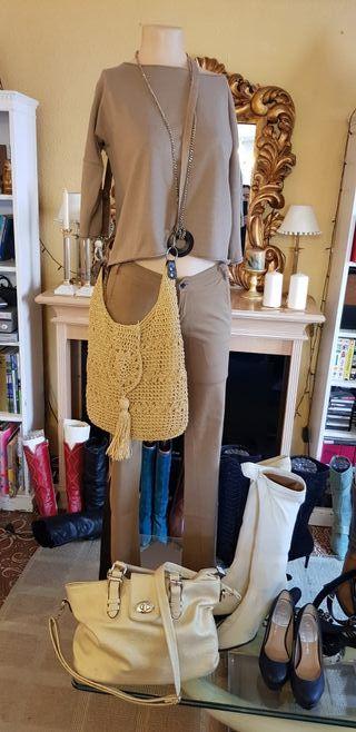 conjunto de pantalón pitillo y Jersey
