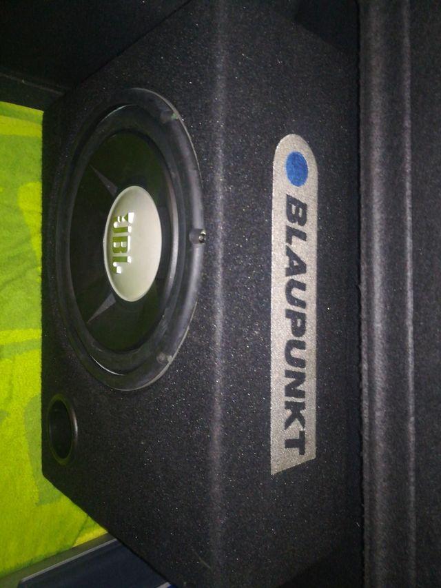subwoofer bombo, coche, audio, equipo de música