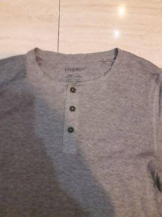 Camiseta hombre Livergy talla M