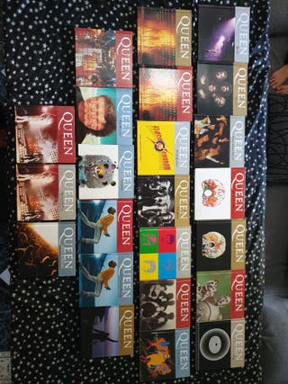 Queen libro cd