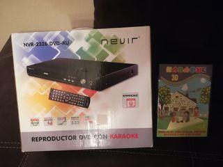 reproductor DVD con Karaoke sin estrenar