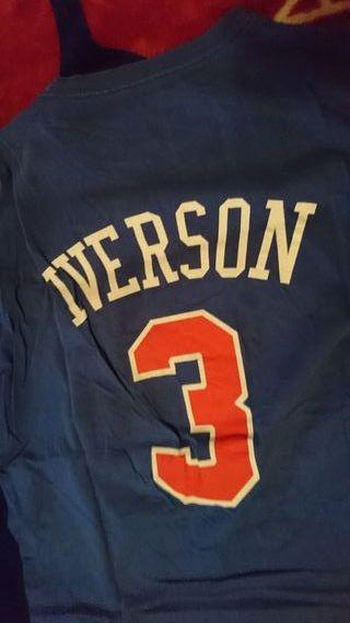camiseta nba Allen Iverson Philladelphia 76ers XL