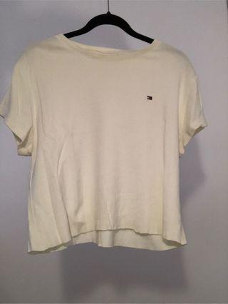 Camiseta Crop Tommy Hilfiger