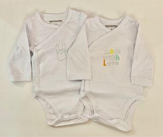 2 Body bebé 1mes SIN ESTRENAR