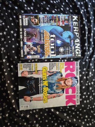 Revistas varias