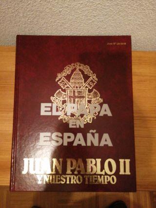 """LIBRO """"EL PAPA EN ESPAÑA"""""""