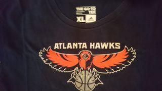 camiseta básica nba de los atlanta hawks talla XL