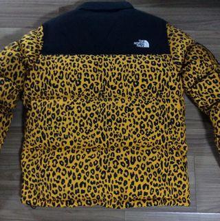 The North Face x Supreme Nuptse 700 Leopard