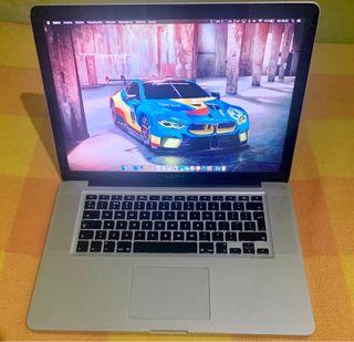 Macbook Pro 15 i7 2012, SSD y 8GB (regateos NO)