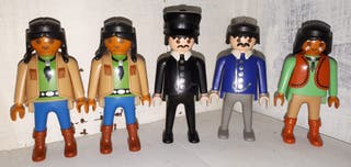 Playmobil oeste indio colección
