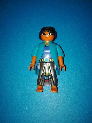 Playmobil campesina aldeana portal de Belén Egipto