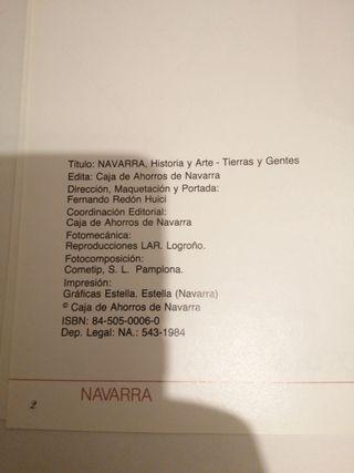 LIBRO: NAVARRA: HISTORIA Y ARTE - TIERRAS Y GENTES