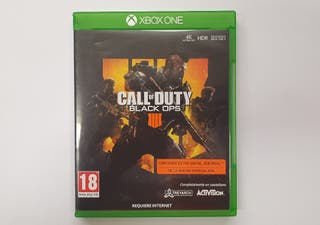 JUEGO XBOX ONE CALL OF DUTY BLACK OPS 4