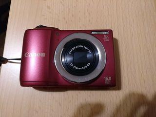 cámara fotos compacta digital canon