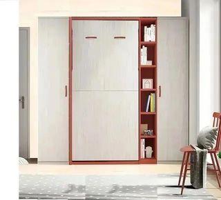 Habitacion con cama abatible vertical