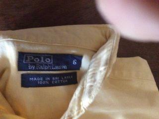 Camisa Ralph Laurent T6