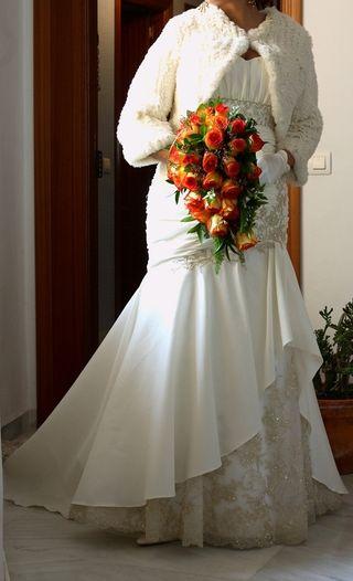 novia traje