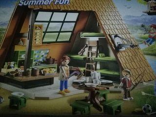 campamento de Playmobil