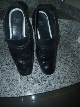 zapatos negros hombre