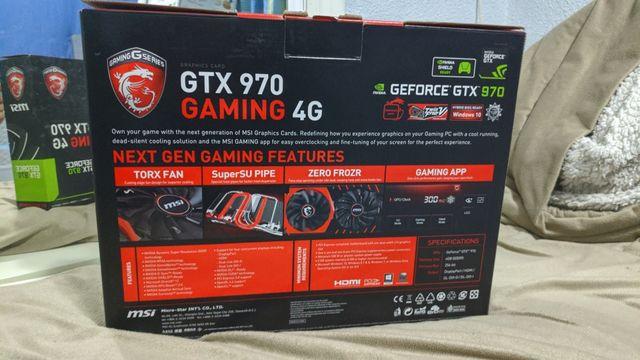 Tarjeta Gráfica MSI GTX 970 Gaming 4G