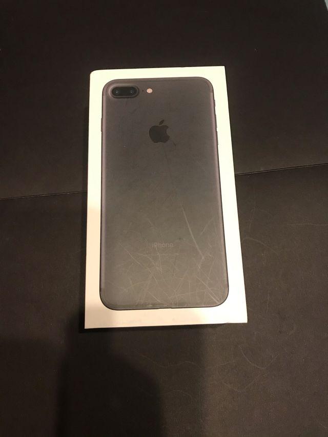 iPhone 7 Plus 128gb NEGRO MATE Impecable
