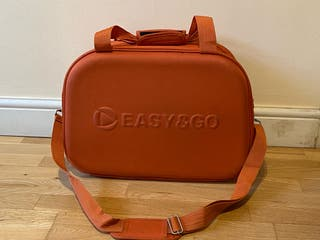Easy & Go orange travel bag