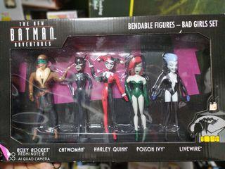 Pack figuras colección bad Girls Batman