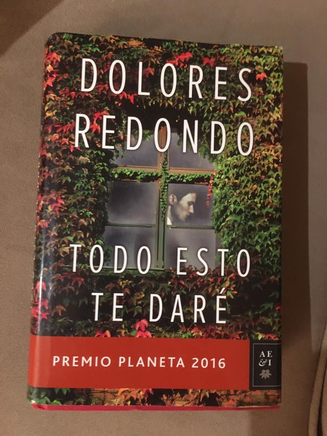 Libro: Todo esto te daré- Dolores Redondo