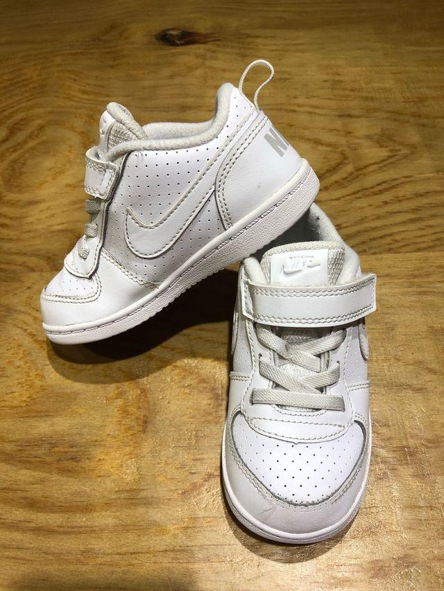 Talla 24 Zapatillas blancas niño niña ropa bebé