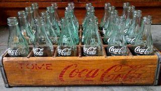 Caja de Coca Cola .... Antigua