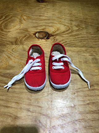 Talla 20 zapatillas bebé niño niña Victoria ropa