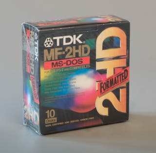 DISQUETES PC TDK MF-2HD