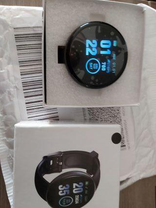 Nuevo reloj inteligente D18