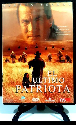 EL ÚLTIMO PATRIOTA FORMATO DVD