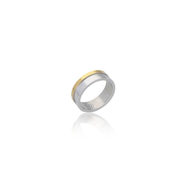 anillo acero (hombre)