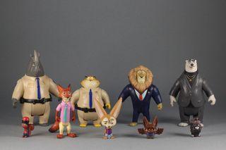 Lote figuras Disney Zootrópolis